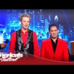 Jarett & Raja Make a Piano Disappear on 'America's Got Talent' 2012