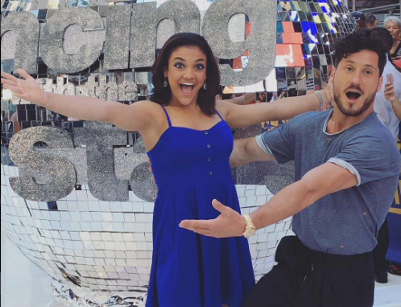 'DWTS' News: Laurie Hernandez Shares Her Celebrity Crush