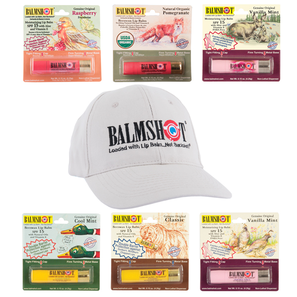 Your Chance To Win a Six Shot of BALMSHOT Lip Balm